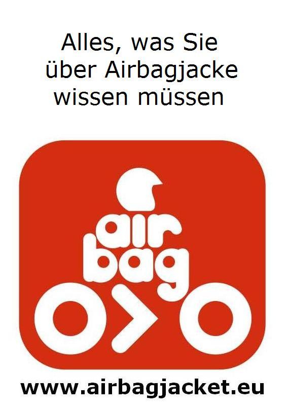 Alles über Jacke mit Airbag, Airbagjacke, Weste mit Airbag für Biker / Reiter